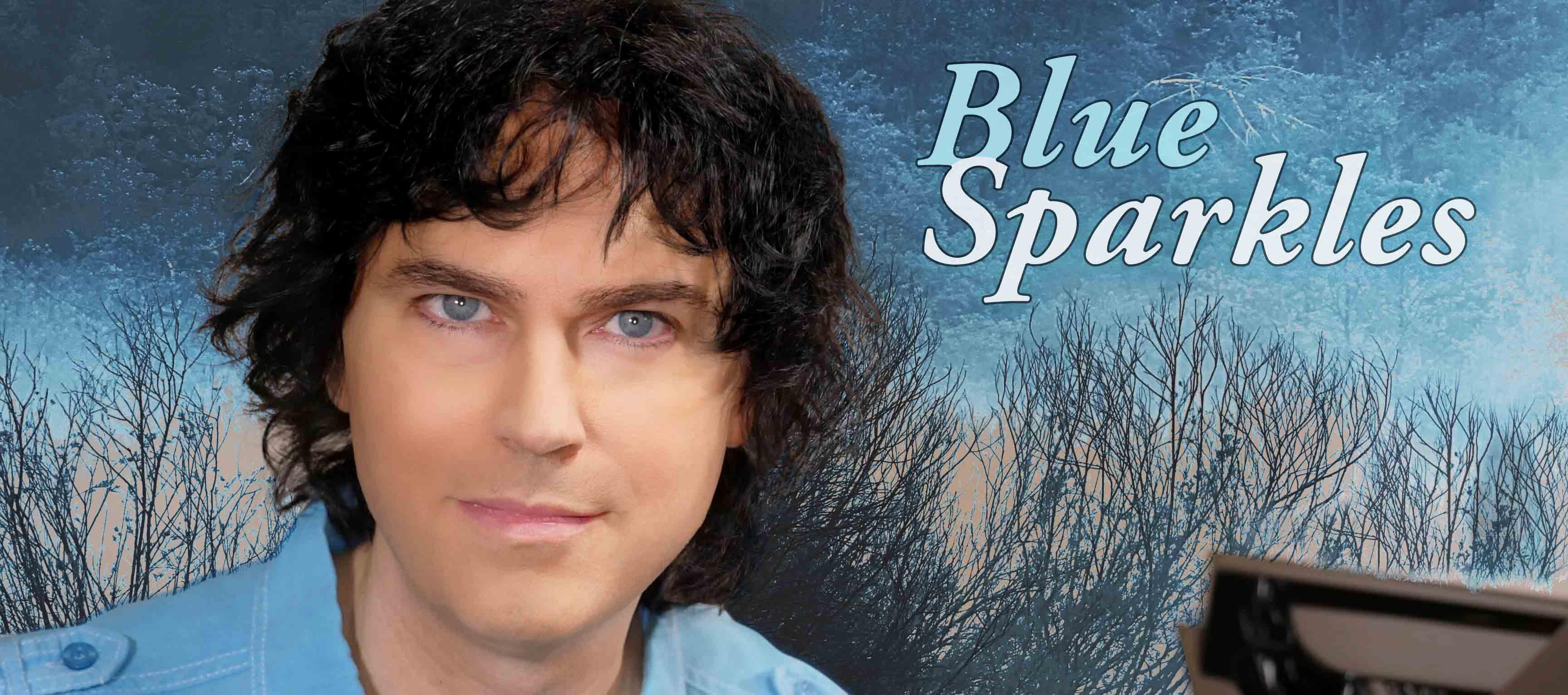 Karl Hugo - Blue Sparkles Bannière LR